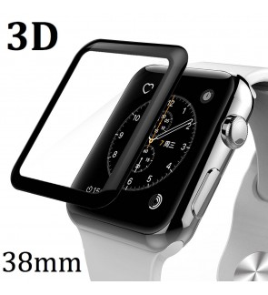 [LOCAL SELLER] Apple Watch 3D Curved Tempered Glass Screen Protector 38mm Full Coverage Film Edge to Edge for iWatch 38mm