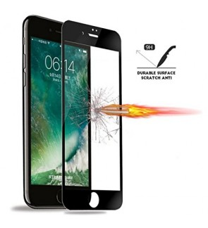 iPhone 7 Tempered Glass 5D Full Curve Cover 0.3mm  HD Ultra Thin Scratch Proof Anti Dust Free Screen Protector Glass Film For iPhone7