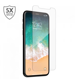 iPhone XS iPhone X Clear Tempered Glass Premium Ultra HD 9H 0.3mm Full Cover HD Ultra Thin Scratch Proof Anti Dust Free Screen Protector Glass Film For iPhoneX XS