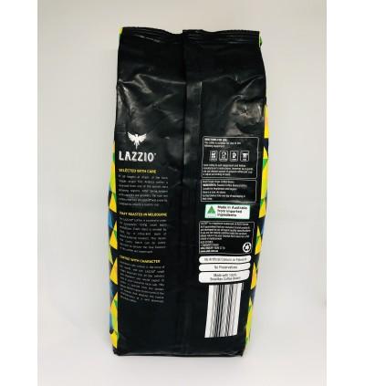 (Australian Import) LAZZIO Single Origin Whole Coffee Beans Brazil Serra Negra 1KG