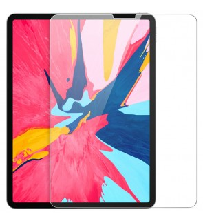 iPad Pro 11'' Screen Protector 2018, [9H Hardness] [Work with Face ID] [Scratch Resistant] [High Definition] [Apple Pencil Compatible] Tempered Glass Screen Protector for iPad Pro 11 inch