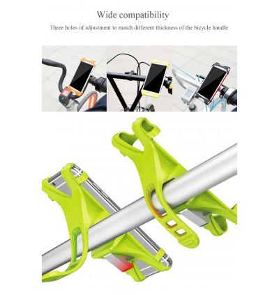 [ORIGINAL] BASEUS Miracle Bicycle Vehicle Mounts Phone Bracket Clip Holder Motorbike for iPhone Samsung Huawei Xiaomi Honor Oppo