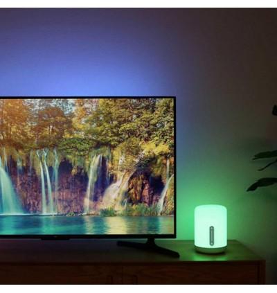 [ORIGINAL] XIAOMI Mijia Smart Bedside Lamp Gen 2 Multicolour LED MJCTD02YL Bluetooth WiFi Touch Control APP Control work with Apple HomeKit Siri, MiJia, Google Assistant, IFTTT, Alexa