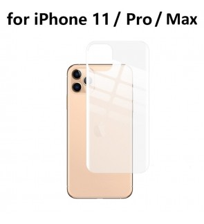 Screen Protector for iPhone 11 / 11 Pro / 11 Pro Max Back Soft Film 0.1mm Full Cover HD Ultra Thin Scratch Proof Anti Dust Free Film For iPhone 11 Pro Max