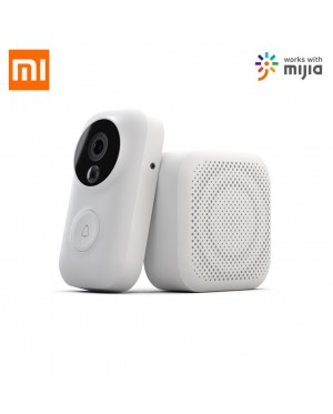 XIAOMI Mijia Zero Smart Doorbell AI Face Identification 720P IR Night Vision Video Motion Detection SMS Push Intercom Free Cloud Storage